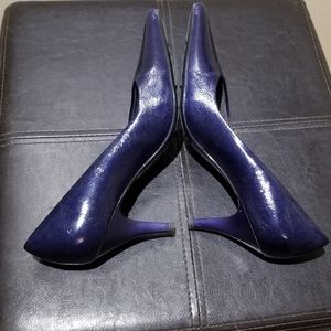 PICCADILLY Patent Leather Heels (Size 38EU=Size 8)
